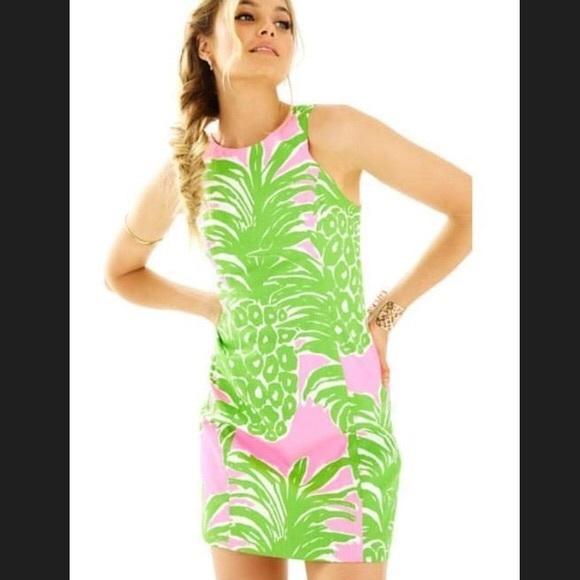 986dae94b13 Largo Shift Dress in Pink Pout Flamenco. Boutique